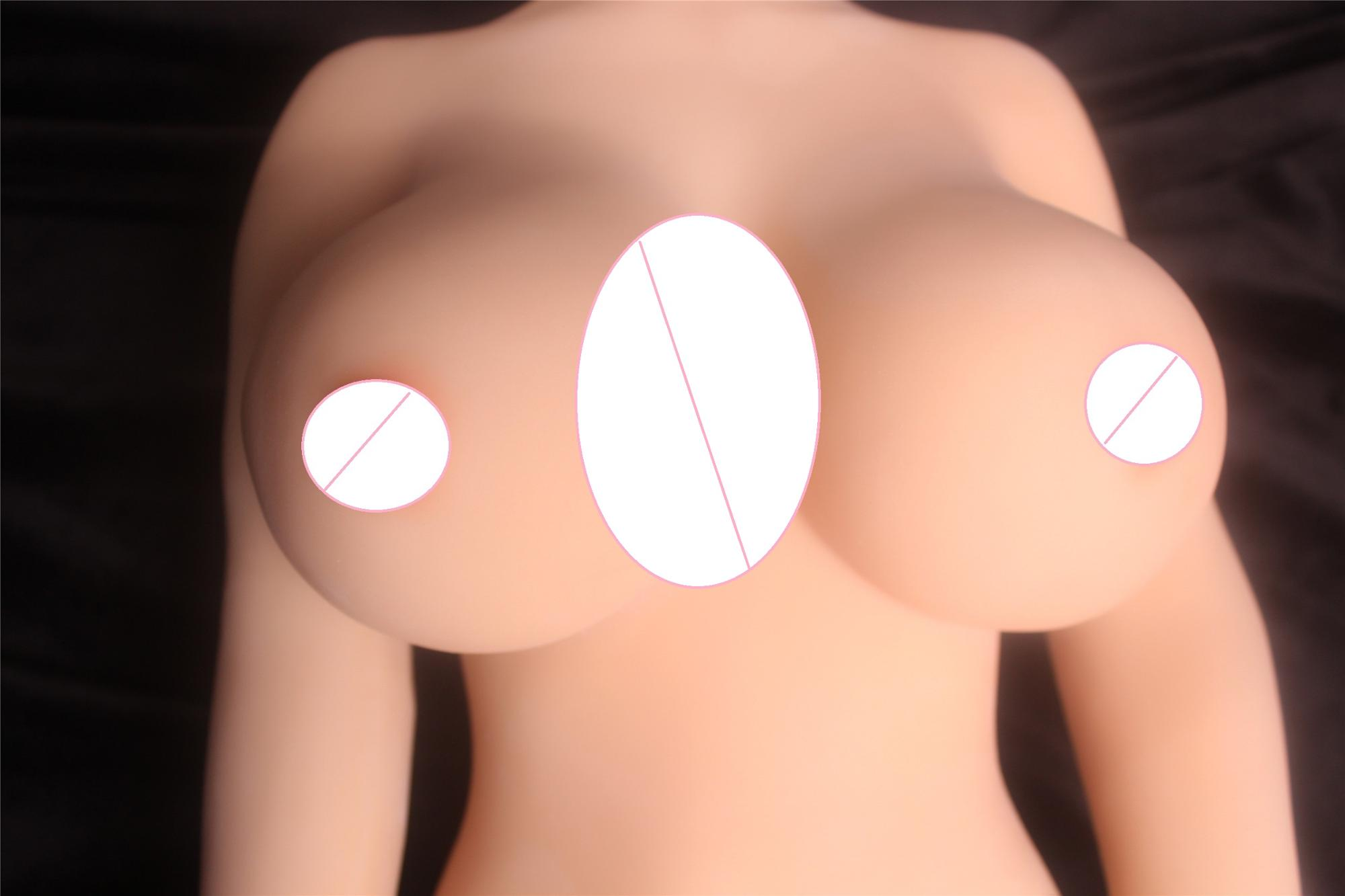 105cm real silicone sex dolls skeleton Japanese adult mini lifelike anime oral love dolls full vagina pussy big breast for men