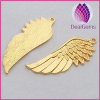 Chinese wholesale angel wings pendants alloy charms