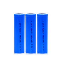 3.2V Phospho Iron Lithium 18650 Rechargeable 1100mah Lipo Batteries Lifepo4 Battery