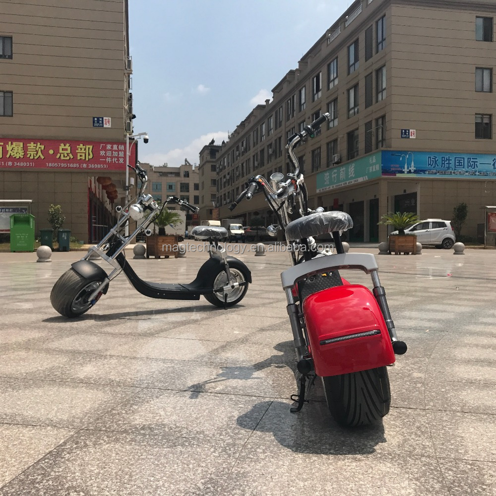 Hot selling citycoco style electric motorcycle/motorbike 1000-2000W