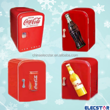4L electric shape mini fridge for cans/fashion style mini cooler can shape mini fridge
