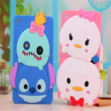 Eco-Friendly New Protective cute cartoon Silicone Case For Pad mini 2 3 4 5
