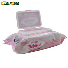 Daily Used Items Cool Famous Brand Plastic Tub Plain Cloth Tender Baby Wet Wipes In Plastic Containers