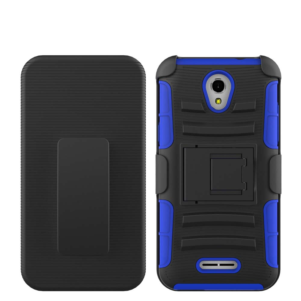 ODM/OEM case for Alcatel one touch elevate holster case;heavy duty case for Alcatel one touch elevate 5017E flip cover