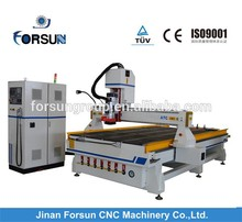 CE china automatic Italy 9.0KW HSD ATC Spindle, Servo Motors auto tool change cnc for Furniture, Doors, Cabinets Making