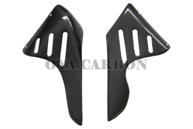 motorcycle parts carbon fiber Side Planets for Ducati Monster S4R