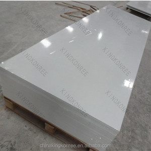 white cultured marble for construction project