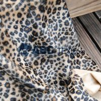 50MTS MOQ 2015 fashion 500 animal designs good price tricot brushed fabric