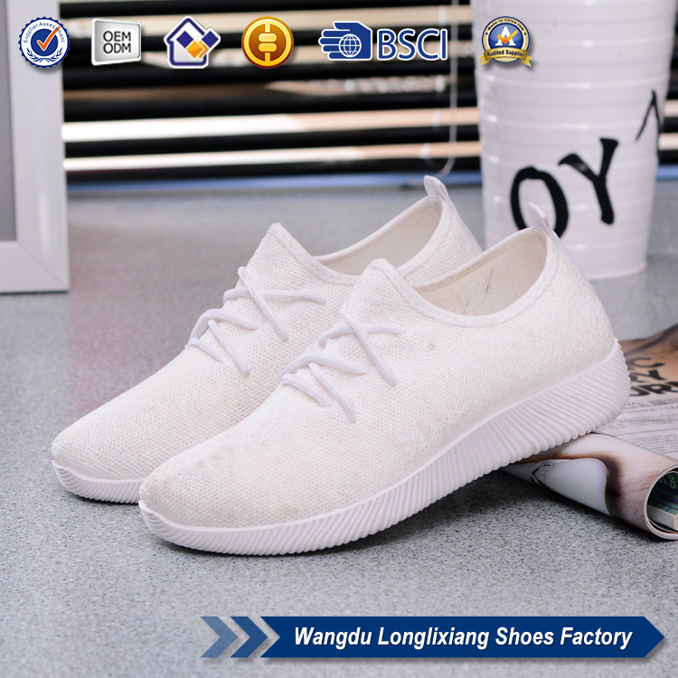 Wholesale china fancy canvas shoes white women shoes 2017 new design men casual sport shoes