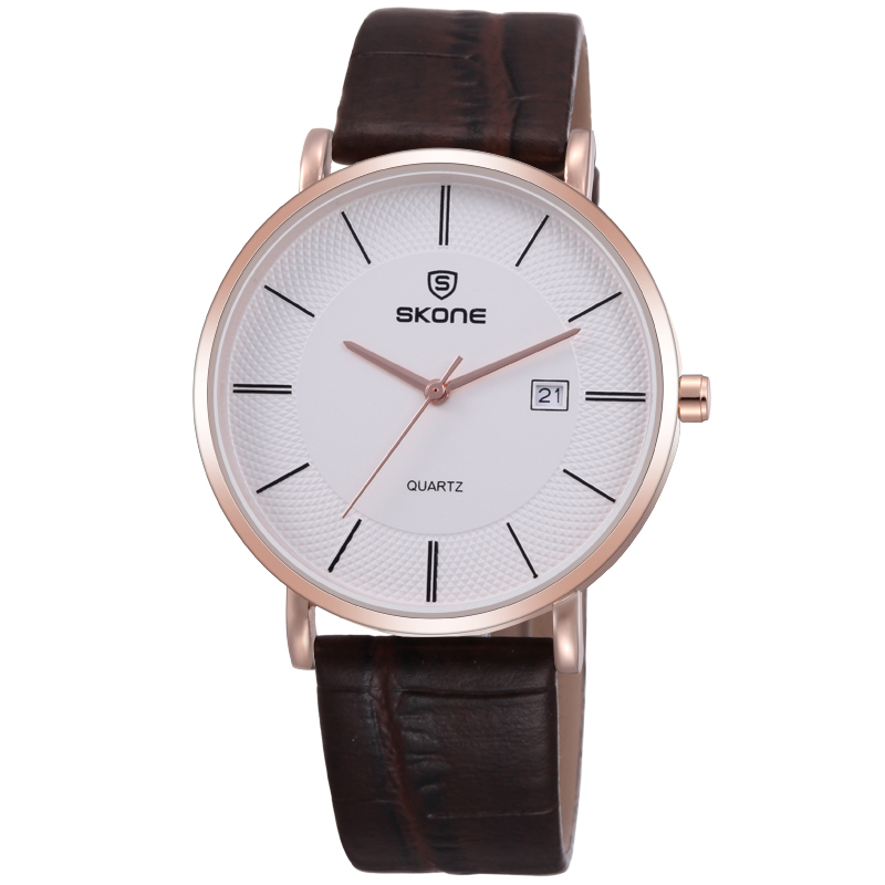 Brown Strap High Quality Wrist Watch International Brand Watches For Man