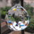 2016 wholesale cheap chandelier crystal ball/ clear crystal christmas ball ornaments