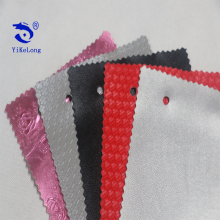 Sponge Foam PVC Rexine Leather Padded Fiber PVC Leather For Bags