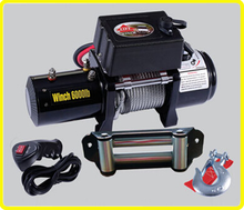 4wd 12v mounting winch , remote 6000lb winch for quad , 4x4 utility trailer winch