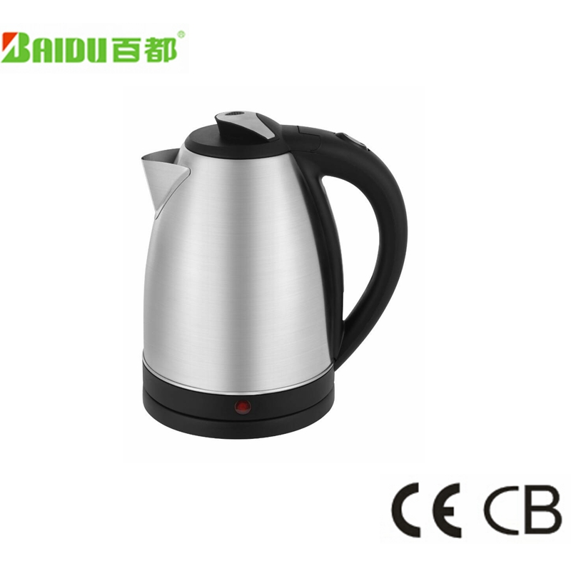 1.7 liter International Cordless Electric Kettle Brushed Stainless Steel for Kitchen using