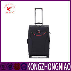 Stylish urban trolley bag soft rolling luggage for leisure with handle