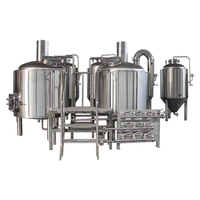 Brewing equipment 100 liter/brewery 200l/small beer brewery equipment mini brewery machine
