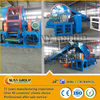 high output rubber tire recycling machine/recycled crumb rubber powder line