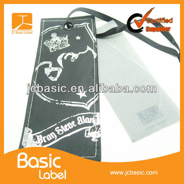 2013 Garment Swing tag