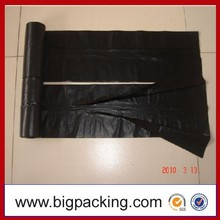 China factory Black HDPE/LDPE Garbage Plastic bags on roll HDPE garbage bags on roll HDPE Biodegradable Trash Bags in Roll