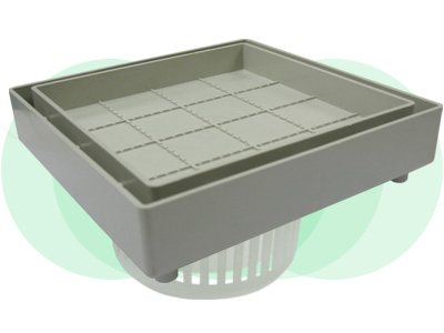 ABS Concealed Floor Drain set