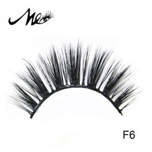 Hot sell high quality 3d silk eyelashes for makeup