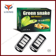 Lixing 2014 ONE-WAY REMOTE CAR/AUTO SECURITY ALARM+SIREN+SEARCHING+KEY CHAIN 4-BUTTON BLACK