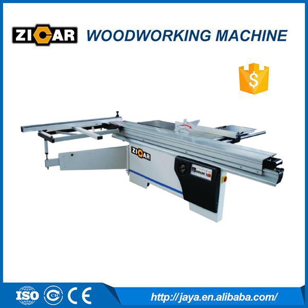 ZICAR MJ6132YII used sliding table saw 3100mm cut length precision sliding table saw made in china