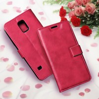Free sample pu material strong magnetic leather phone case for LG l80 V20 X5 flip cover