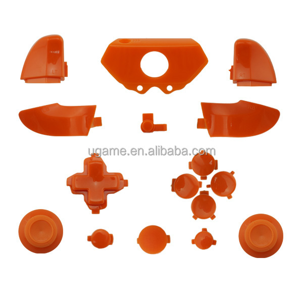 Orange custom shell for xbox one controller shell from china shenzhen