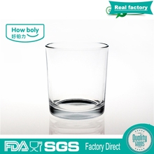 9508 8oz round highball glass 230ml hot drinking glasses factory clearly cylinder cups with high quality