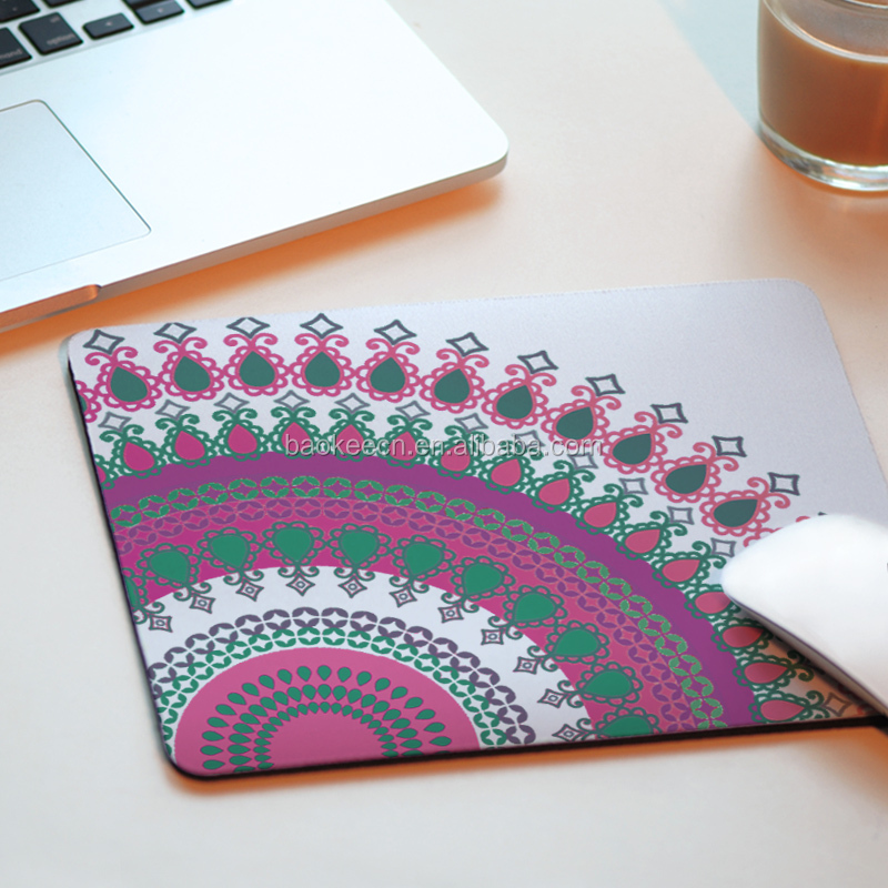 Hot Sale Eco- friendly Promotional Laptop Desk PVC Mouse Mat
