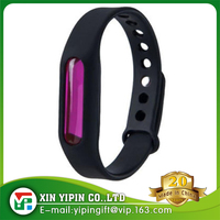 Natual defense Mosquito Repellent Bracelet Wristband,citronella oil anti mosquito silicone waterproof wristbands(black)