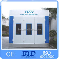 BTD portable spray booth/spray booth wall panels/painting booth with 2 years warranty time