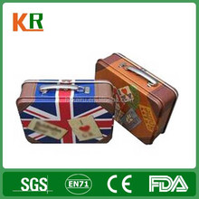 Metal Customized British Style Lunch Tin Box
