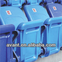 stadium tip-up chair,folding stadium seat with permanent spring,bucket chair