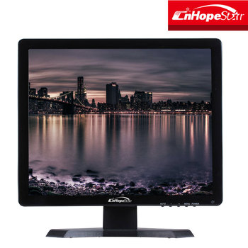 High quality 4:3 square screen hd input 17 inch cheap cctv lcd computer monitor