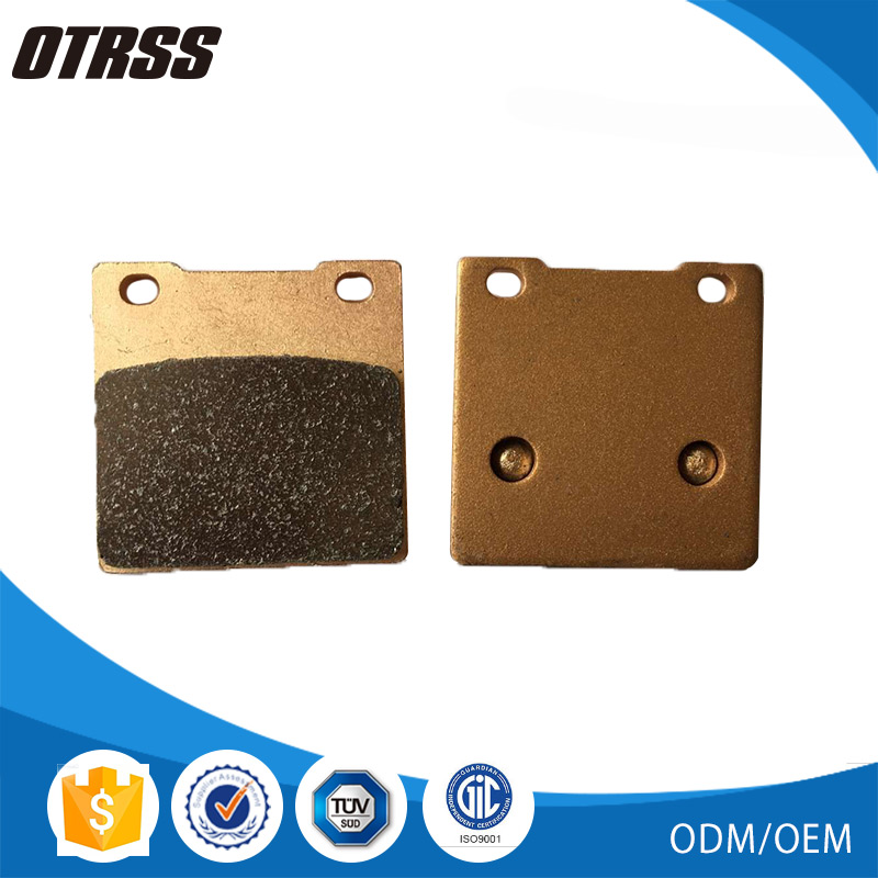 High resistance to temperature sintered FA58 motorcycle brake pads