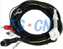 CD cables and Connector for car CD Player TSPANSONIC-W-CD