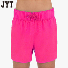 Hot 18 girls blank board shorts, wholesale women's beach pants with afforable