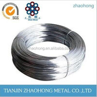 China Hot dipped Low price Electric galvanized iron wire