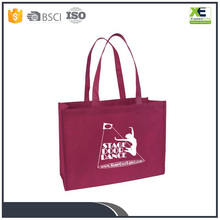 custom reusable waterproof non woven folding shopping tote bags