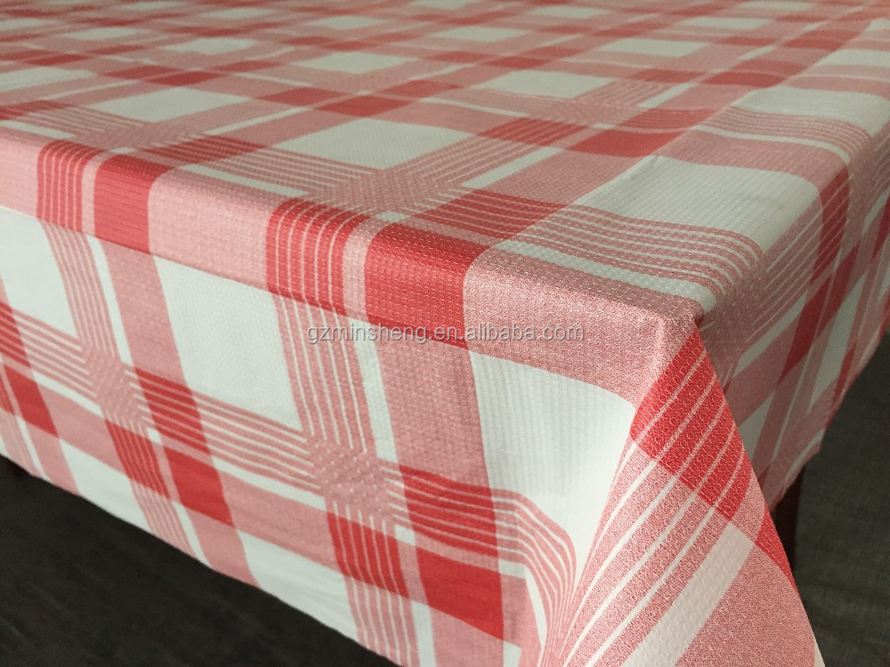 disposable pe table cloth one time used plastic table cloth factory cheap price