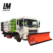 Hot sale multifunctional heavy duty snow removal trucks with snowplow
