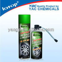 Tire repair spray and tire inflator OEM tire sealant 450 ml/550ml/650ml