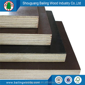 9mm 12mm 15mm 18mm brown film black film faced plywood in sale