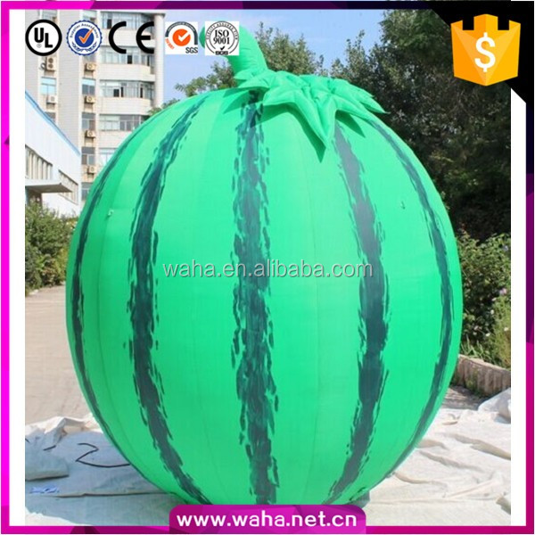 Customized Advertising Inflatable Fruit Model Inflatable Watermelon W10572