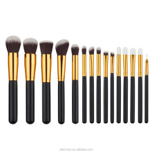 Hot 2018 Oval BB Foundation Cream Puff Cosmetic Toothbrush Shape Makeup Brush Set, Tooth Makeup Brush