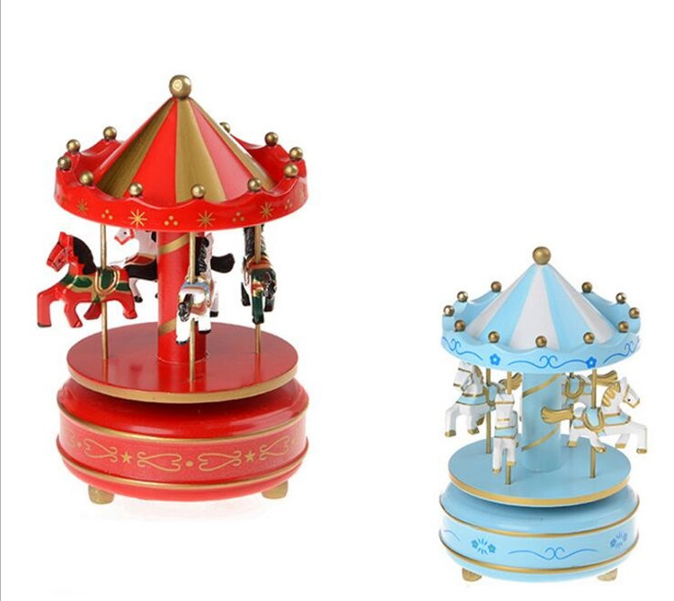 2017 new style carousel music box