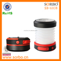 High Power Rechargeable Emergency LED Camping Lantern Light Telescopic Portable for Outdoors Carry