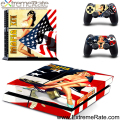 For Customized Design Self-adhesive Skin Sticker Console and Controller For Sony Playstation 4 GYTM0457